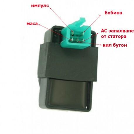 ЕЛЕКТРОНИКА CDI GY6-50 KYMCO променливотокова АС