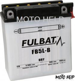АКУМУЛАТОР FB5L-B ( 12N5-3B ) FULBAT 12V 5.3Ah
